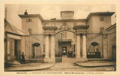 "/ CPA FRANCE 13 ""Marseille, château de Saint Barnabé, hôtel restaurant"""