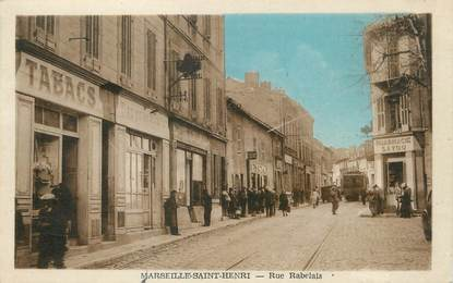 Cpa france 13 marseille saint henri rue rabelais 13 for Garage henri marseille