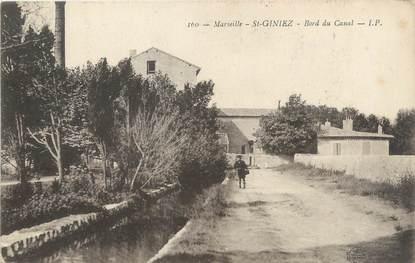 """/ CPA FRANCE 13 """"Saint Giniez, bord du Canal"""""""