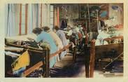 """23 Creuse / CPA FRANCE 23 """"Aubusson, intérieur d'une fabrique de tapis"""""""