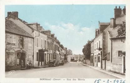 """/ CPA FRANCE 23 """"Boussac, rue des Hôtels"""""""