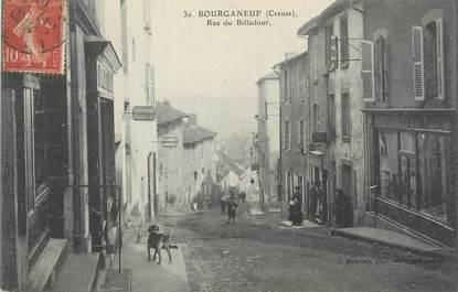 "/ CPA FRANCE 23 ""Bourganeuf, rue de Billadour"""