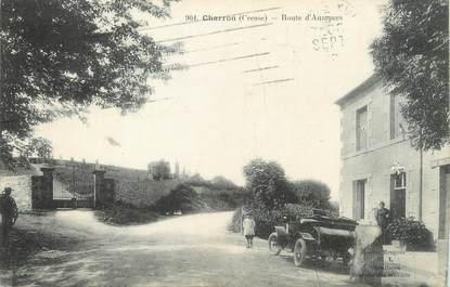 """/ CPA FRANCE 23 """"Charron, route d'Auzances"""""""
