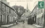 """23 Creuse / CPA FRANCE 23 """"La Courtine, rue de l'église """""""