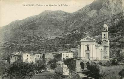 "CPA FRANCE 20 ""Corse, Feliceto, vue générale"""