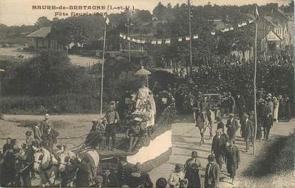 """CPA FRANCE 35 """"Maure de Bretagne, la Fête fleurie 1926"""""""