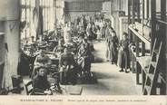 """35 Ille Et Vilaine CPA FRANCE 35 """"Fougères,  la manufacture, atelier de piquage des chaussures"""""""