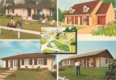 """/ CPSM FRANCE 38 """"La Verpillère, maisons cosmos"""""""