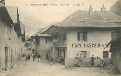 """CPA FRANCE 73 """"Pontamafrey, la Grande rue"""""""