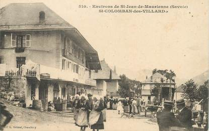 """CPA FRANCE 73 """"Env. de Saint Jean de Maurienne, Saint Colomban des Villard"""""""