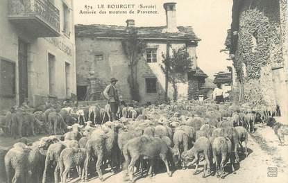 """CPA FRANCE 73 """"Le Bourget, arrivée des moutons"""""""