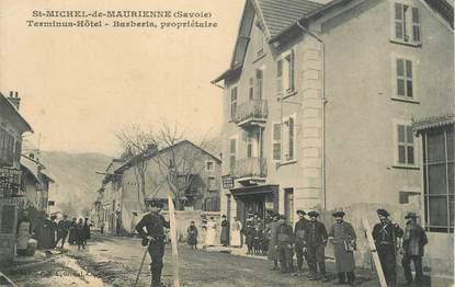 """CPA FRANCE 73 """"Saint Michel de Maurienne, le Terminus Hotel"""""""
