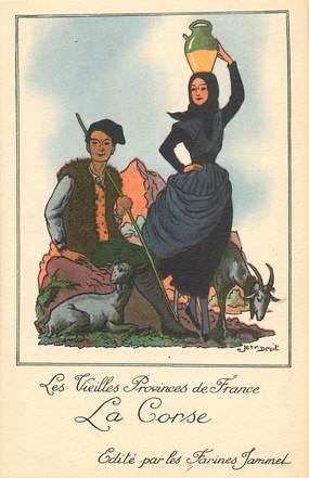 """CPA FRANCE 20 """"Corse"""" / carte éditée par les Farines Jammet"""
