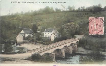 """/ CPA FRANCE 23 """"Fresselines, le moulin de Puy Guillon"""""""