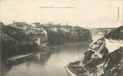 """CPA FRANCE 20 """"Corse, Bonifacio, Quartier militaire"""""""