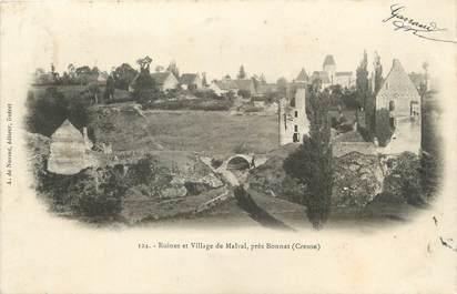 """/ CPA FRANCE 23 """"Ruines du village de Malval près Bonnat"""""""