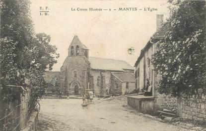 """/ CPA FRANCE 23 """"Mantes, l'église"""""""