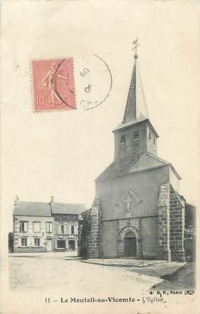 """/ CPA FRANCE 23 """"Le Monteil au Vicomte, l'église"""""""