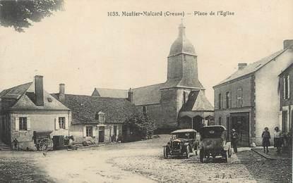 """/ CPA FRANCE 23 """"Moutier Malcard, place de l'église"""""""