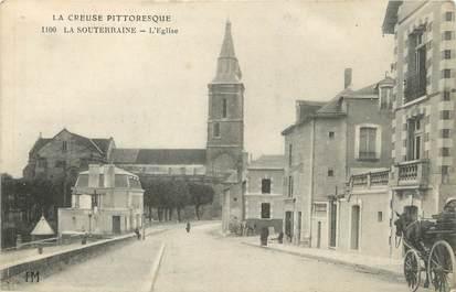"""/ CPA FRANCE 23 """"La Souterraine, l'église"""""""