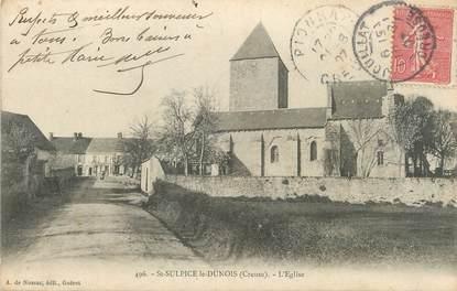"""/ CPA FRANCE 23 """"Saint Sulpice le Dunois, l'église"""""""