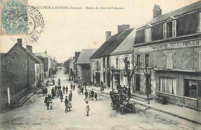 """/ CPA FRANCE 23 """"Saint Sulpice le Dunois, route de Dun le Palleteau"""""""