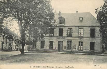 """/ CPA FRANCE 23 """"Saint Sulpice les Champs, la mairie"""""""