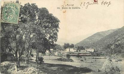 """CPA FRANCE 20 """"Corse, Bains de Guitèra"""""""