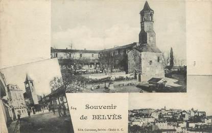 """/ CPA FRANCE 24 """"Souvenir de Belvès"""""""