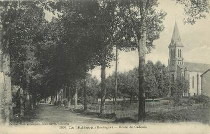"""/ CPA FRANCE 24 """"Le Buisson, route de Cadouin"""""""