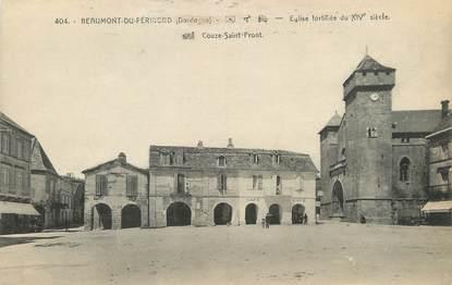 """/ CPA FRANCE 24 """"Beaumont du Périgord, église fortifiée"""""""