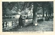 """24 Dordogne / CPA FRANCE 24 """"Brantome, la promenade des bords de la Drônne"""""""