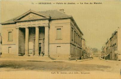 """/ CPA FRANCE 24 """"Bergerac, palais de justice"""""""