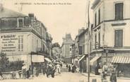"""24 Dordogne / CPA FRANCE 24 """"Bergerac, la rue Neuve prise de la place du pont"""""""