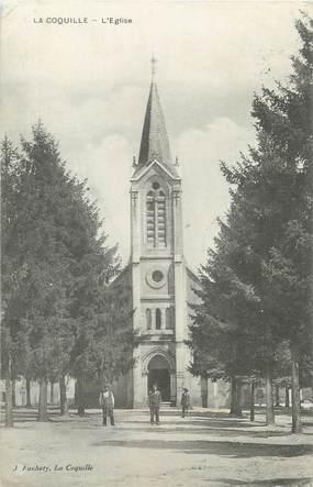 """/ CPA FRANCE 24 """"La Coquille, l'église"""""""