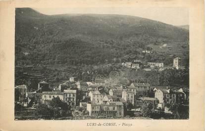 """CPA FRANCE 20 """"Corse, Luri de Corse, Piazza"""""""