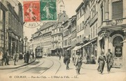 "68 Haut Rhin CPA FRANCE 68 ""Colmar, rue des Clefs, Hotel de Ville"""