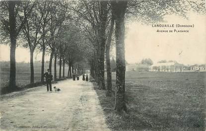 """/ CPA FRANCE 24 """"Lanouaille, av de Plaisance"""""""