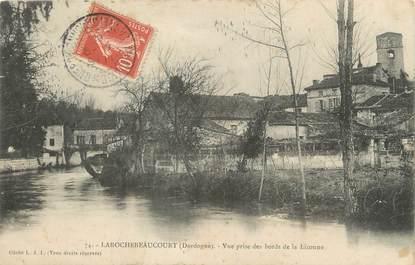 """/ CPA FRANCE 24 """"Larochebeaucourt, vue prise des bords de la Lizonne"""""""
