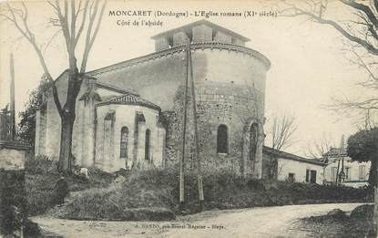 """/ CPA FRANCE 24 """"Moncaret, l'église romane"""""""