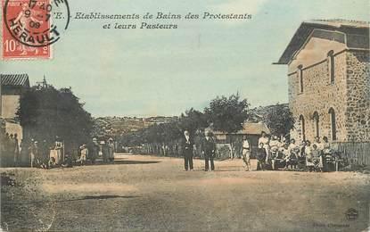 """CPA FRANCE 34 """"Cette, Etablissements de Bains des Protestants"""""""