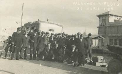 "CARTE PHOTO FRANCE 34 ""Palavas les Flots, 1925"""