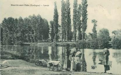 """/ CPA FRANCE 24 """"Neuvic sur l'Isle, lavoir"""""""