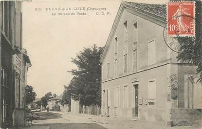 """/ CPA FRANCE 24 """"Neuvic sur l'Isle, le bureau de poste"""""""