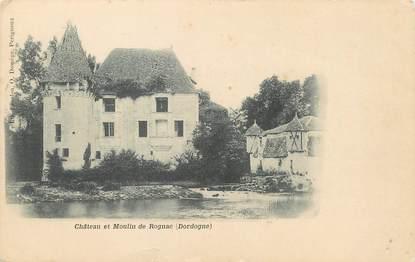"""/ CPA FRANCE 24 """"Château et moulin de Rognac"""""""