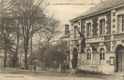 "/ CPA FRANCE 24 ""La Roche Chalais, la mairie """