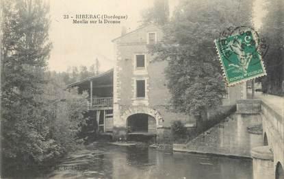 "/ CPA FRANCE 24 ""Riberac, moulin sur la Dronne"""