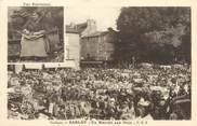 """24 Dordogne / CPA FRANCE 24 """"Sarlat, un marché aux noix"""""""