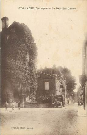 """/ CPA FRANCE 24 """"Saint Alvère, la tour des Dames"""""""