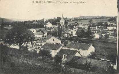 """/ CPA FRANCE 24 """"Saint Pierre de Chignac, vue générale"""""""